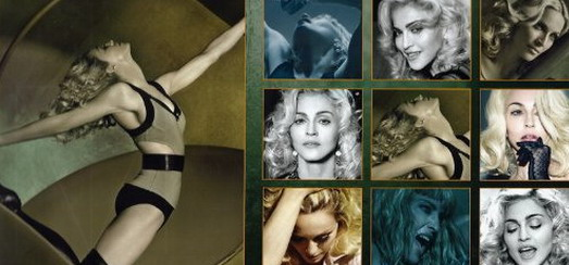 The official 2012 Madonna calendar available