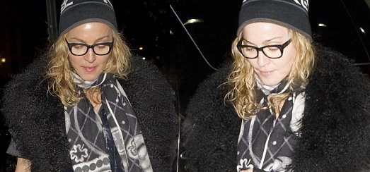 Madonna Out and About in New York [2 December 2011 – Pictures]