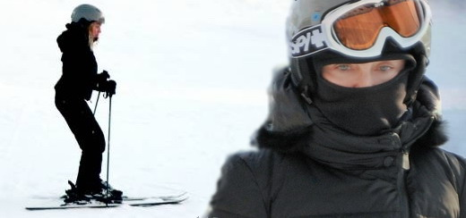 Madonna and family skiing in Gstaad [27 Dec 2011 - 3 Jan 2012]