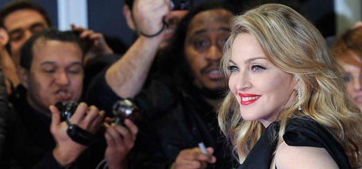 Madonna at the UK premiere of W.E. at the Odeon Kensington, London [11 January 2012 – HQ pictures + video]