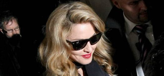 Madonna leaving the W.E. afterparty at the Arts Club in London [12 January 2012 – HQ Pictures]