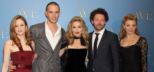 Madonna at the London premiere of W.E. – Interviews & Reports [8 videos]