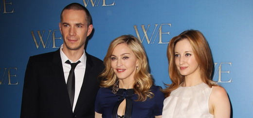 Reports on the London premiere of Madonna's W.E.