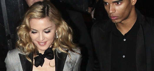 Madonna at the Boom Boom Room in New York [24 January 2012 – HQ Photos]