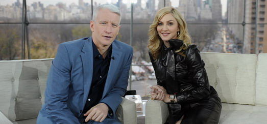 Anderson Cooper's hour-long exclusive interview with Madonna: More details…
