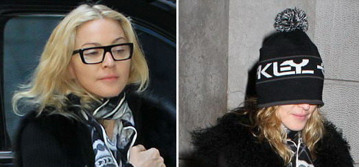 Madonna at the Kabbalah Centre, New York [27-28 January 2012]