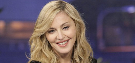 Madonna on The Tonight Show with Jay Leno [30 January 2012 - Pictures]