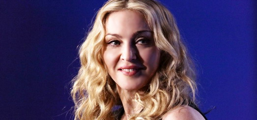 Madonna at the Super Bowl press conference [2 February 2012 - HQ pictures]
