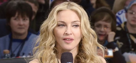Madonna interview by Rich Eisen for NFL [2 February 2012]