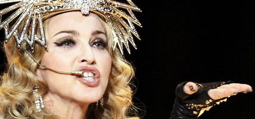 Celebrities on Madonna's Super Bowl Half Time Show