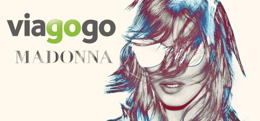 "Viagogo – Official ""Madonna World Tour"" Partner [Press release]"