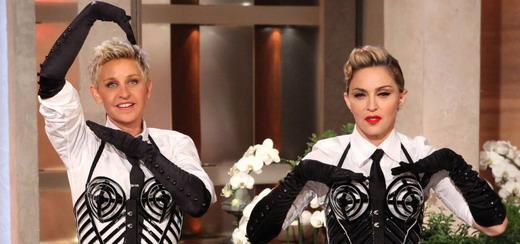 Photos promos de Madonna chez Ellen DeGeneres [HQ – Sans Tags]