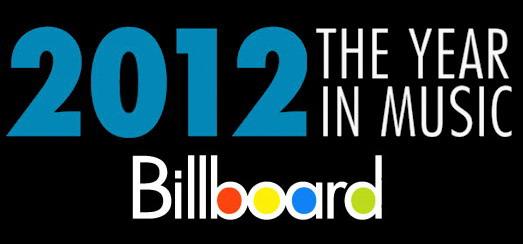 Madonna dans le Best de 2012 par Billboard