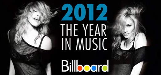 Madonna domine largement le sondage des lecteurs de Billboard en 2012