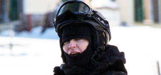 Madonna repérée à Gstaad, en Suisse [décembre 2012 – janvier 2013]