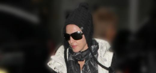 Madonna au centre de Kabbale à New York [12 janvier 2013]