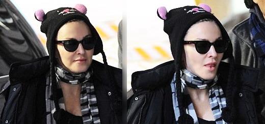 Madonna au centre de Kabbale à New York [2 février 2013]