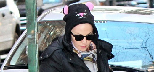 Madonna dans les rues de New York [9 mars 2013]