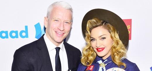 Madonna backstage aux GLAAD Media Awards: J'ai menti. Arrêtez-moi !