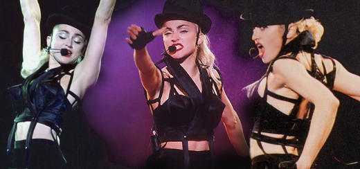 Vidéo inédite des répétitions du Blond Ambition Tour