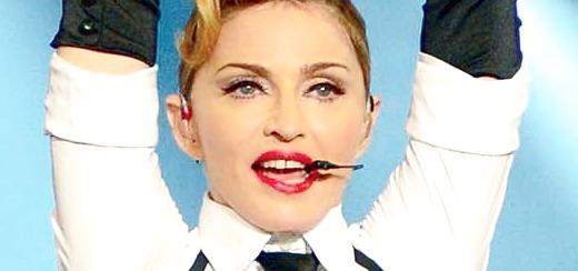 Madonna en couverture du numéro de Mars du magazine Backstage Latinoamérica