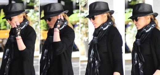Madonna dans les rues de New York [4 mai 2013]