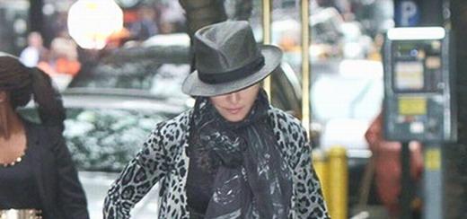Madonna dans les rues de New York [11 mai 2013]