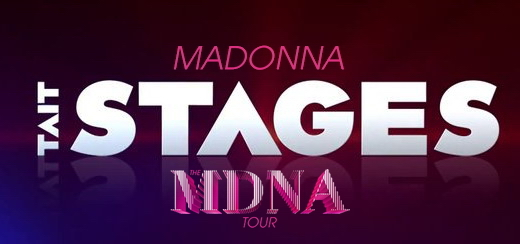 « On Tour: Tait Stages » Un regard inédit Behind the Scenes du MDNA Tour