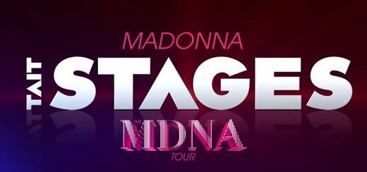 «On Tour: Tait Stages» Un regard inédit Behind the Scenes du MDNA Tour