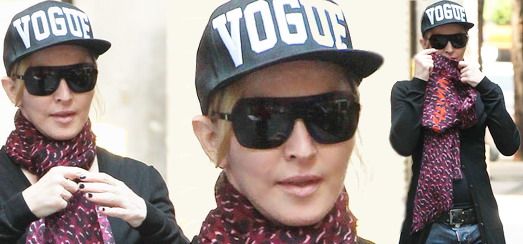 Madonna au centre de Kabbale à New York [3 juillet 2013]