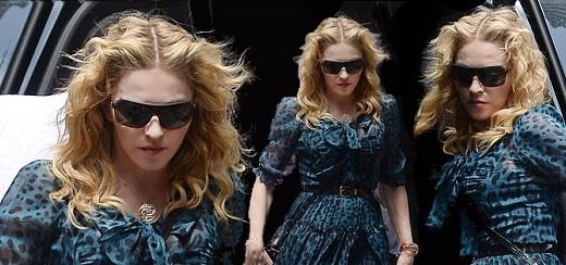 Madonna au centre de Kabbale à New York [13 juillet 2013]