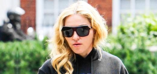 Madonna dans les rues de Londres [27 juillet 2013]