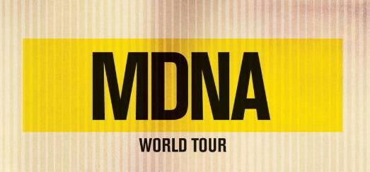 Le visuel de la cover et les différents formats du MDNA Tour
