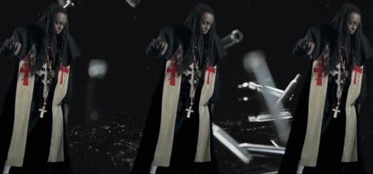 Projection Backdrop de «Revolver» avec Lil Wayne [MDNA Tour]