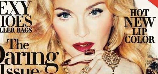 La couverture Harper's Bazaar avec Madonna [Numéro de novembre 2013]