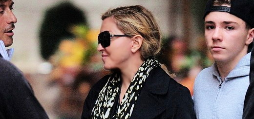 Madonna dans les rues de New York [5 octobre 2013 – Photos]