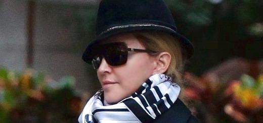Madonna au centre de Kabbale à New York [12 octobre 2013]