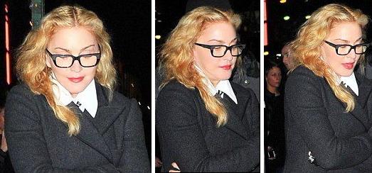 Madonna dans les rues de New York [8 novembre 2013 – Photos]