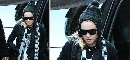 Madonna au centre de Kabbale à New York [23 novembre 2013]