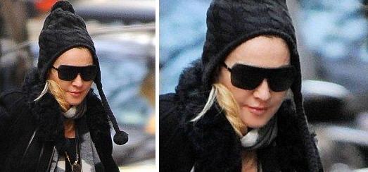 Madonna au centre de Kabbale à New York [30 novembre 2013]
