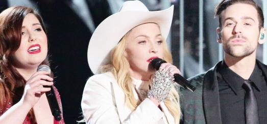 Madonna à la 56ème cérémonie des Grammy Awards [26 janvier 2014 – Photos & Vidéos]