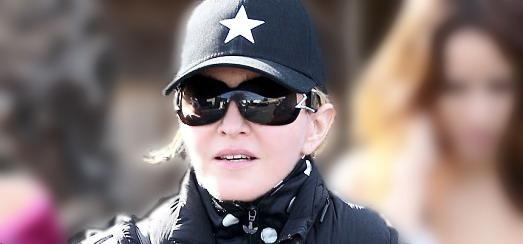 Madonna dans les rues de Los Angeles [27 janvier 2014 - Photos]