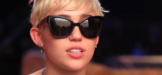 Miley Cyrus : Madonna et moi partageons le même message
