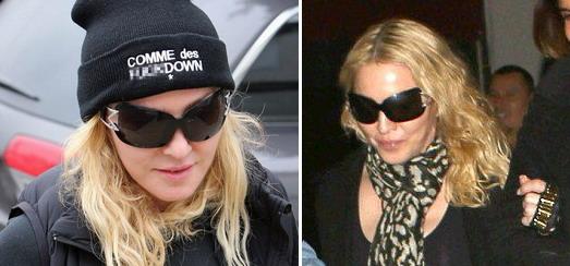 Madonna dans les rues de Los Angeles [29-30 Janvier 2014 – Photos]
