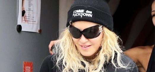 Madonna dans les rues de Los Angeles [11 mars 2014 - Photos]