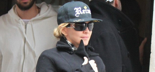 Madonna dans les rues de New York [24 mars 2014 - Photos]