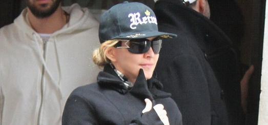Madonna dans les rues de New York [24 mars 2014 – Photos]