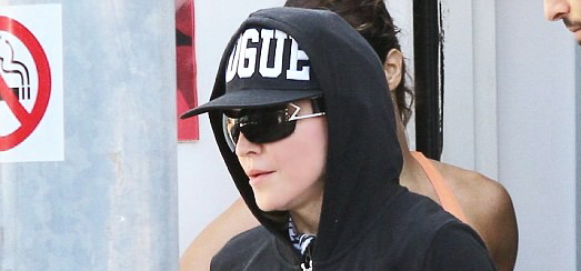 Madonna dans les rues de Los Angeles [21 avril 2014 - Photos]