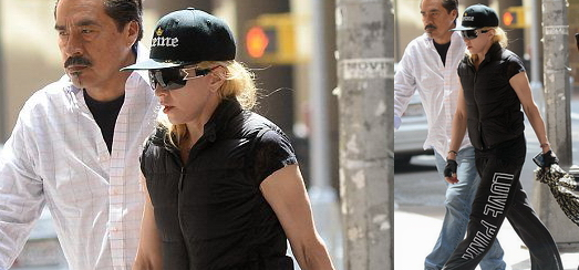 Madonna au centre de Kabbale à New York [10 mai 2014 – Photos]