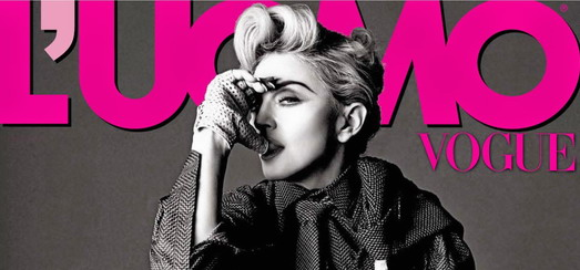 Madonna par Tom Munro pour L'Uomo Vogue [Photos]
